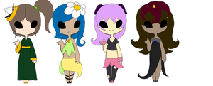 Seedrian Adoptables by FloralFantasy
