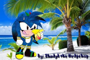 Classic Ares the Hedgehog by PrincessShadyk
