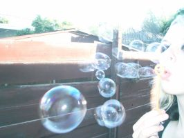 bubbles and studs by CatherineAllison