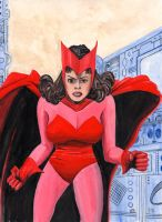The Scarlet Witch by Lord-Makro