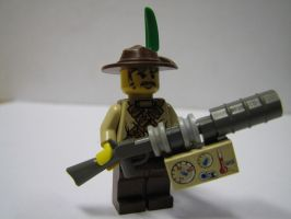 Steampunk Hero Rifleman LEGO by Maroventolo