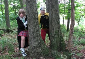 Hunting for a Witch by BluRockAngelCostumes