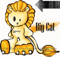 Big Cat by BeckaMartinez
