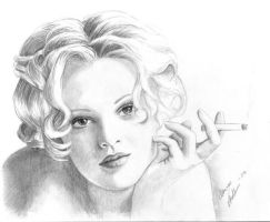 Drew Barrymore by Yumeartist