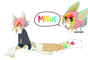 mikuo reference by alpacasovereign