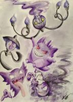 Ghost Pokemonz by kimimaro-21