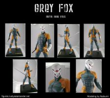 Grey Fox by machine-messiah