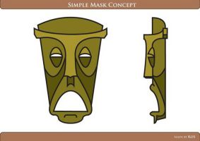 Simple Mask Concept by 0K0S0