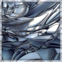 MB11 Blue Abstract by Xantipa2