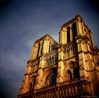 The Holga of Notre Dame. by lomoboy