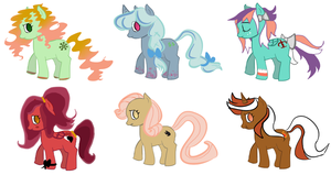 Seven Deadly Sins MLP Adopts~Auction by aquadopts