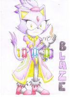 Second Guardian: Blaze by Dogwhitesector