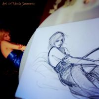 Figure drawing by nicolasammarco
