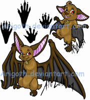 Ari Bat Designs .Colored. by Arigoth