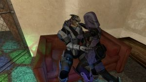 FwGMOD - Garrus and Tali by musicluver4113