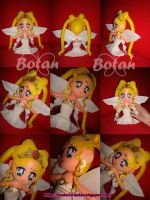 chibi Neo Queen Serenity plush version by Momoiro-Botan