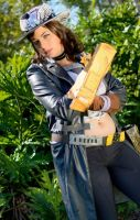 Sheriff of Lynchwood - Borderlands 2 cosplay by HoodedWoman