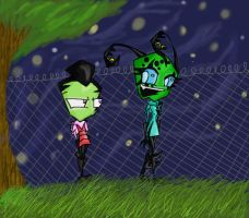 Invader Zim Contest Entry by invaderzims