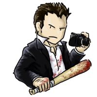 Frank West :Chibi: by Germanoob94