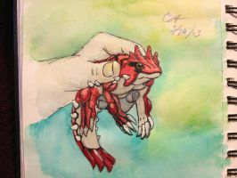 Pocket Monster Groudon by AzureGryphon