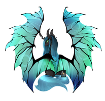 Queen Chrysalis by Phoeberia