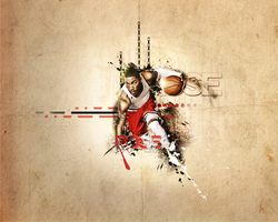Derrick Rose by SOCCERFANTASYARTV3