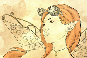 Steampunk Series - Clockwork Fairy by Mibu-no-ookami