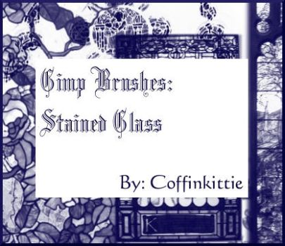 Gimp Brushes: Stained Glass by daydreamkitten