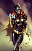 Batgirl Commission Colors by Dawn-McTeigue