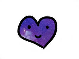 I give you that Galaxy Heart by xMixed