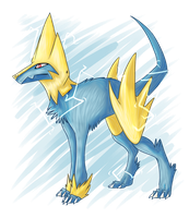 #310 Manectric by Q33N