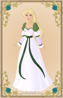 Odette { Green Dress 2 } by kawaiibrit