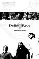 Concert Flyer - Belle Rive by phenoxa