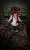 Makise Kurisu cosplay by SelenaAdorian