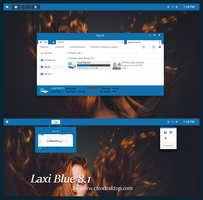 Laxi Blue Theme Windows 8.1 by cu88