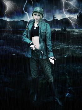 Hetalia - Nyo Germany Cosplay -  Cold Rain by SovietMentality
