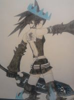 BLACK*ROCK SHOOTER BEAST (colored) by NARUFRO93