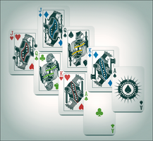 Card Deck Design for Poker Software by Pureav
