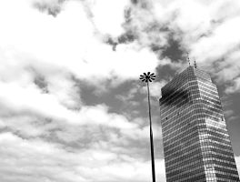 warsaw. sky-blue by janocha
