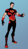 new Superboy costume by iliaskrzs