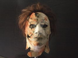 Micheal Myers Mask by Fullmoon-rose