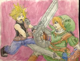 Link vs. Cloud by tonoly21