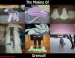 The Making of Greywolf Quadsuit 2014 by Mytokyokitty