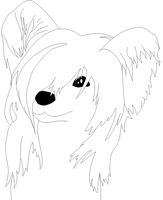 Dog Lineart 2 by Roky320
