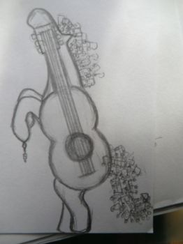 Guitar by AliiceR