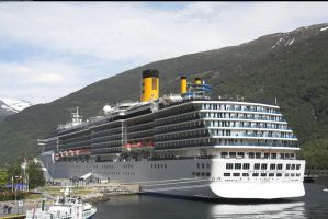 Cruise ship Flaam, Norway 6 by enframed