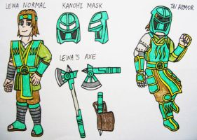 Lewa Human Design by StealthNinja5