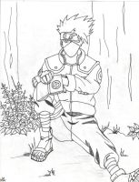 Kakashi's Down Time by moonwitch1