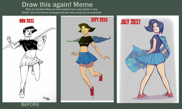Draw This Again Flying Girl 2017 by wildcats25