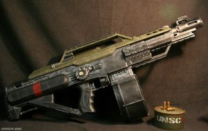 Halo Style Nerf Stampede Done by JohnsonArms